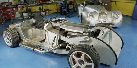 Morgan +E electric sports cars on the way