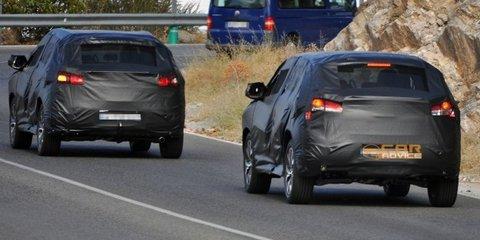 Peugeot 4008 compact SUV spy shots