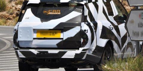2013 Range Rover spy shots