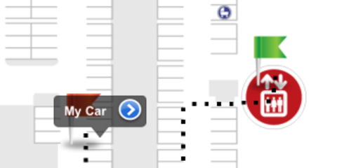 Westfield iPhone App introduces Find My Car parking assistance
