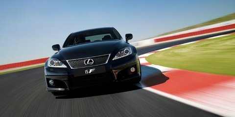 2012 Lexus IS F upgrades revealed