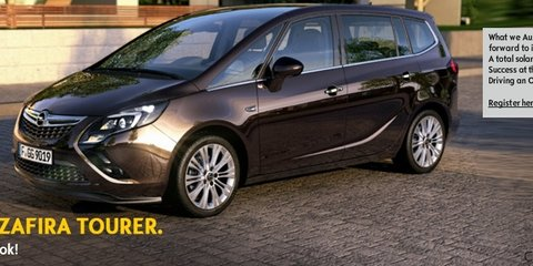 Opel Australia website features Zafira, Meriva, hints at potential introduction