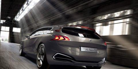 Peugeot HX1 concept teased ahead of 2011 Frankfurt Motor Show