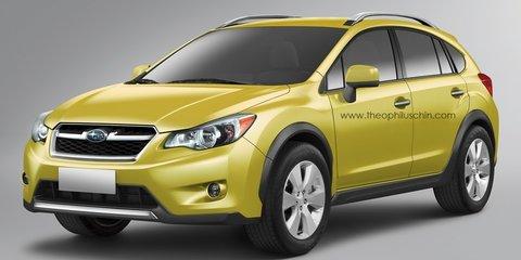2012 Subaru XV production teaser revealed ahead of Frankfurt