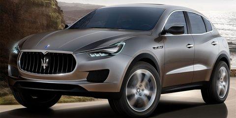 Maserati Kubang concept SUV at Frankfurt Motor Show