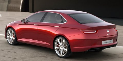 SEAT IBL Sport Sedan Concept unveiled ahead of Frankfurt Motor Show