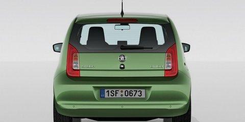 Skoda Citigo city car revealed, based on Volkswagen Up!