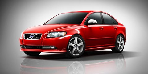2012 Volvo S40, V50 updates on sale in Australia