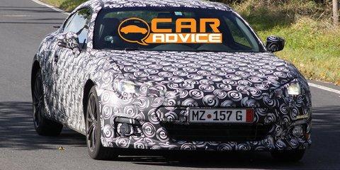 Subaru BRZ Spy Photos