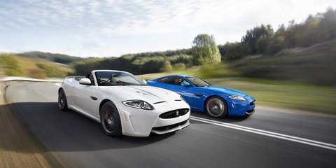 2012 Jaguar XKR-S Convertible in Australia by March