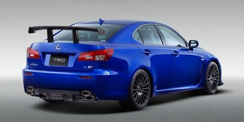 Lexus IS F Circuit Club Sport kit coming to Tokyo show
