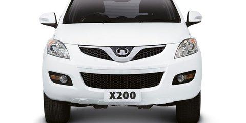 Great Wall X200 diesel on sale in Australia