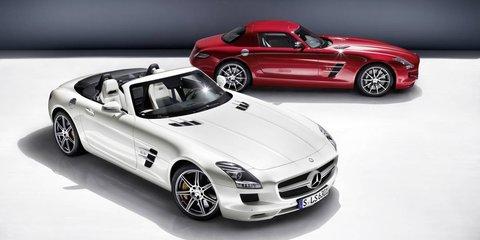 2012 Mercedes-Benz SLS AMG Roadster Australian price: $487,500