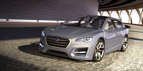 Subaru Advanced Tourer Concept hybrid unveiled