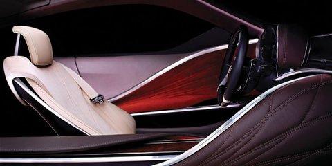 Lexus sports car concept teased ahead of Detroit show