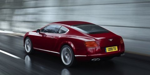 2012 Bentley Continental V8 in Australia by August