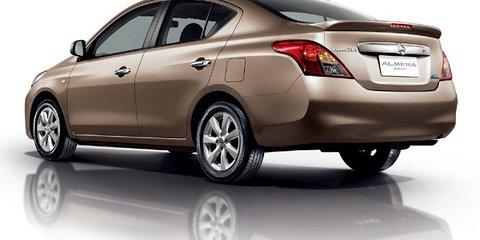 Nissan Almera coming in 2012