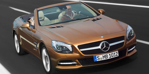 2013 Mercedes-Benz SL-Class official images revealed