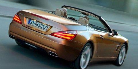 2012 Mercedes-Benz SL-Class in Australia by June