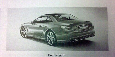 2012 Mercedes-Benz SL-Class brochure leaked