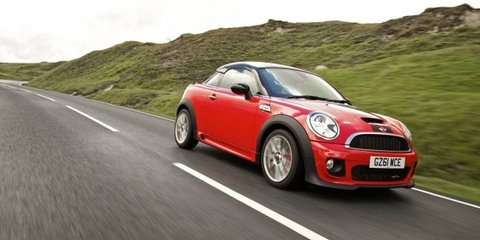 2012 MINI Cooper S Coupe priced from $42,990