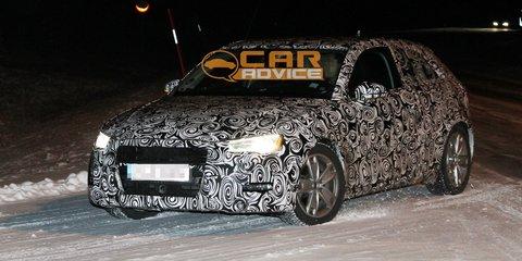 2013 Audi A3 winter spy shots