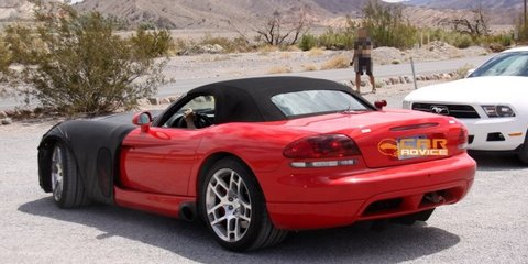2013 SRT Viper coming late 2012 to drop Dodge name
