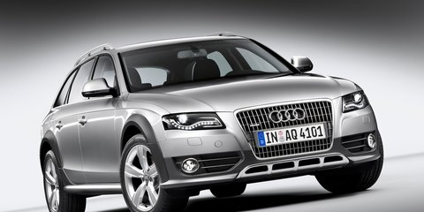 Audi A4 Allroad U-turns for Australia