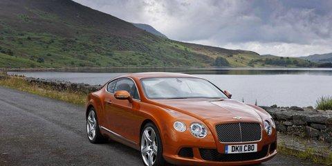 Bentley teases its new V8 engine