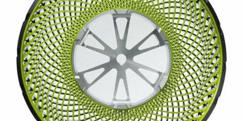 Bridgestone airless tyre concept: Efficient and environmentally friendly