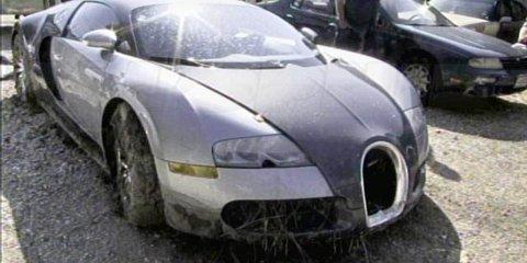 Bugatti Veyron lake crash driver faces 20 years in prison