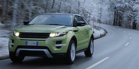 Land Rover: New Cars 2012