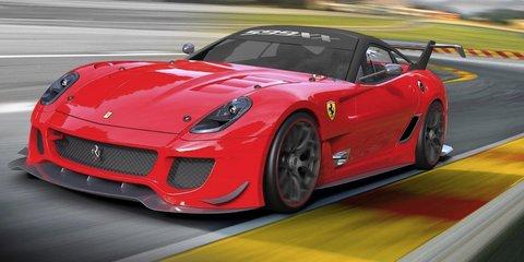 Ferrari 599XX Evolution revealed at Bologna Motor Show