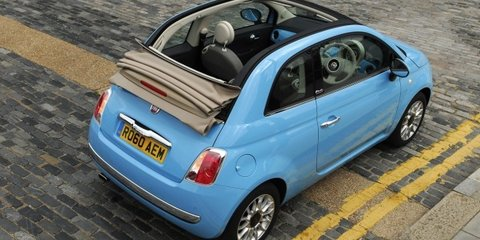 2012 Fiat 500C TwinAir confirmed for Australia