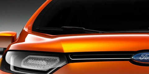 Ford baby SUV teaser image released