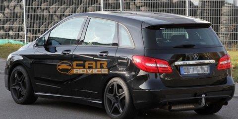 2013 Mercedes-Benz 'B25' AMG spy shots