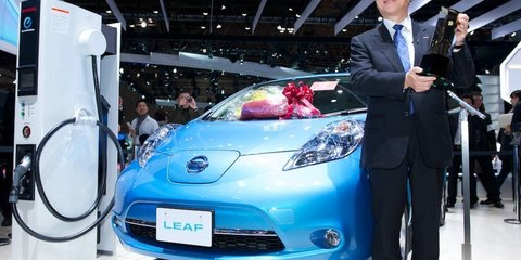 Nissan LEAF named 2011 Car of the Year Japan