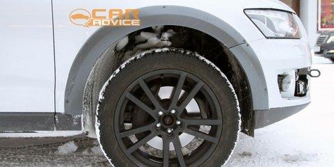 Porsche Cajun spy shots