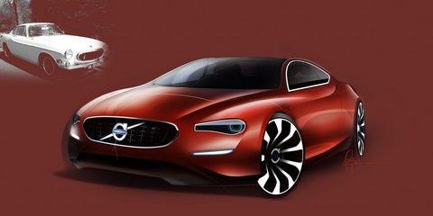 Volvo P1800 50th anniversary renderings