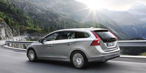 2012 Volvo V60 Plug-in diesel under consideration for Australia