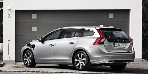 2012 Volvo V60 Plug-in diesel under consideration for Australia