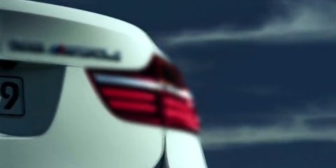 BMW X6 M50d video sneak peek
