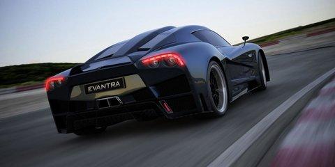 F&M Evantra supercar unveiled