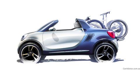 Smart For-us: Compact ute concept headed to Detroit