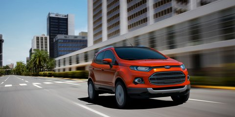 Ford EcoSport SUV unveiled: Here in 2013