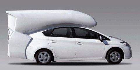 Toyota Prius Camper Conversion Unveiled At Tokyo Auto