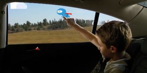 GM gets interactive with Windows of Opportunity passenger entertainment