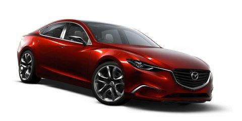 Mazda6 four-door 'coupe' to rival Passat CC