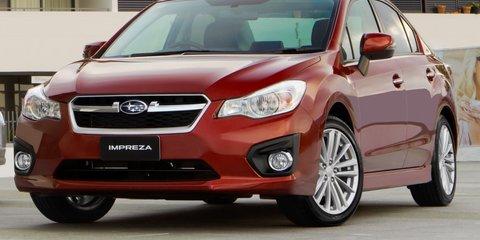 2012 Subaru Impreza launched