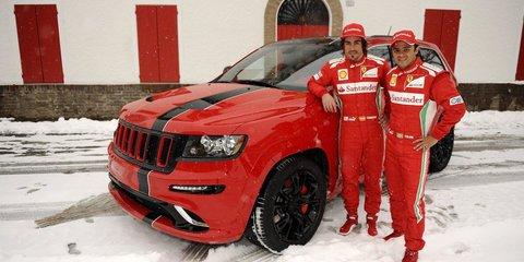 Jeep Grand Cherokee SRT8 inspired by Ferrari